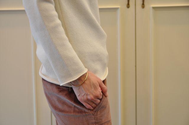 リュクスに  ・・・   knit 。 outer 。。。_b0110586_19531047.jpg