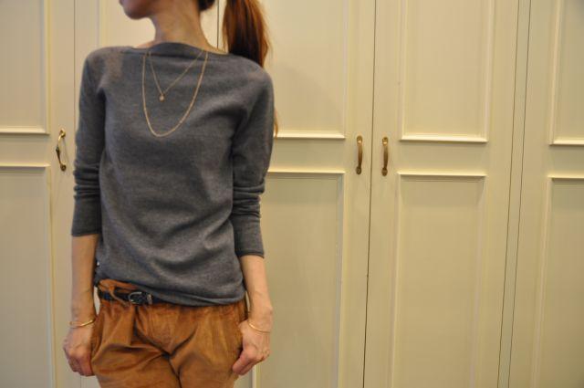 リュクスに  ・・・   knit 。 outer 。。。_b0110586_2004191.jpg