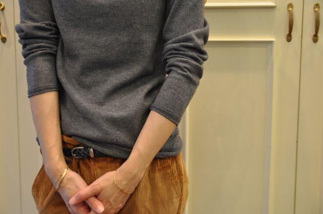 リュクスに  ・・・   knit 。 outer 。。。_b0110586_2053637.jpg