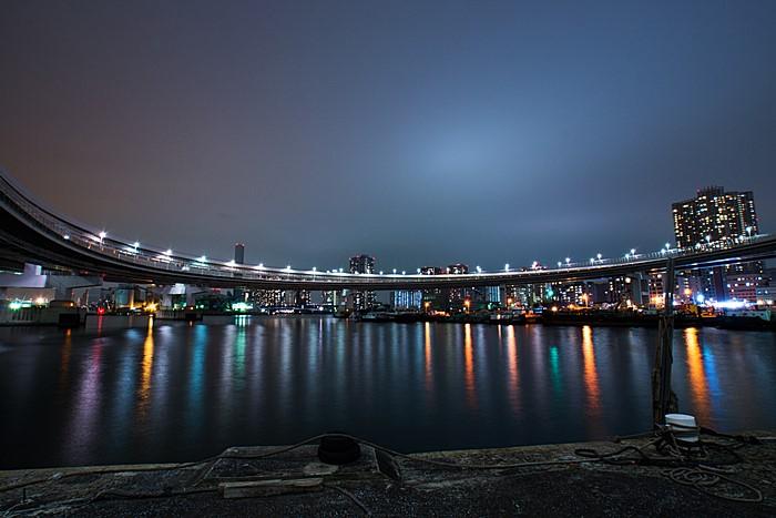夜景 レインボーブリッジ ループ橋_b0145398_2101753.jpg