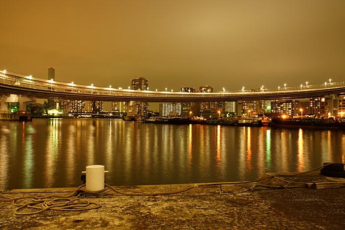夜景 レインボーブリッジ ループ橋_b0145398_21031100.jpg
