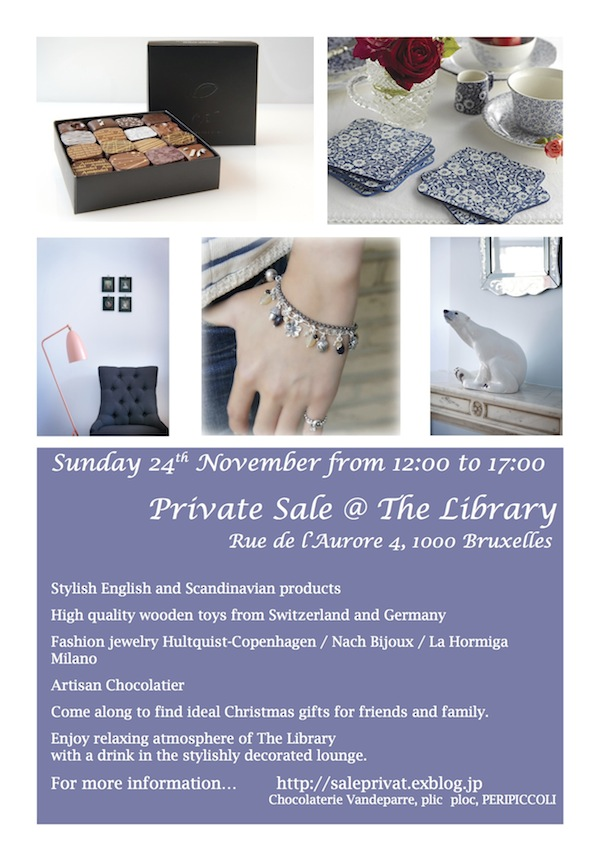 Sunday 24th November from 12:00 to 17:00 Private Sale@ The Llibrary in Louise_d0219123_1617462.jpg