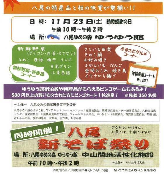 八尾ゆめの森収穫祭_d0232855_20164690.jpg