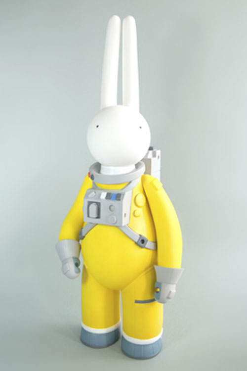 Astrolapin (yellow) by mr clement_e0118156_21482878.jpg