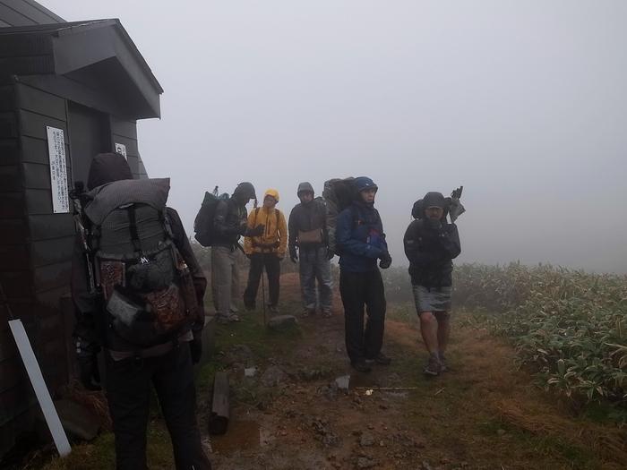 2013.11.3-4 谷川岳を歩いて泊まる山旅 day2_b0219778_16162345.jpg