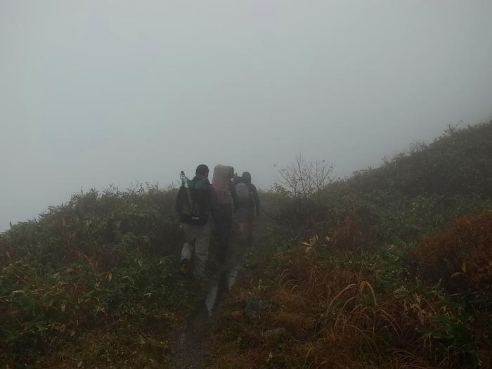 2013.11.3-4 谷川岳を歩いて泊まる山旅 day2_b0219778_16165964.jpg