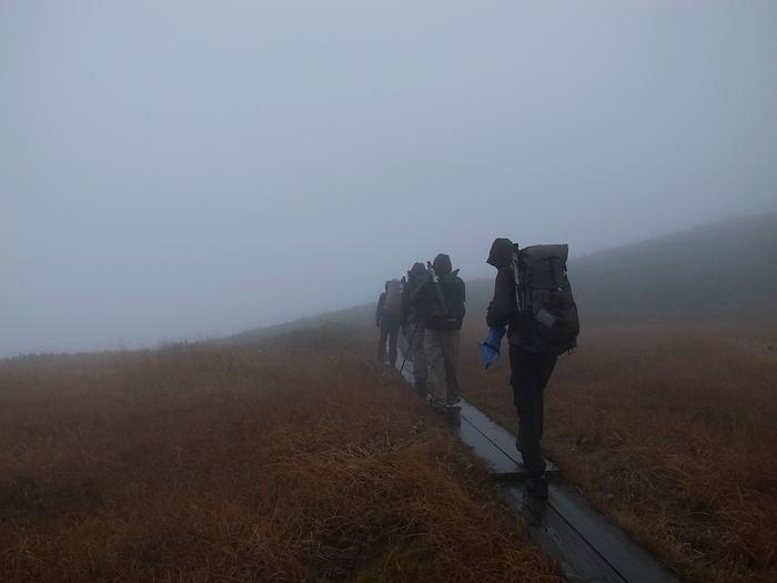 2013.11.3-4 谷川岳を歩いて泊まる山旅 day2_b0219778_16172146.jpg