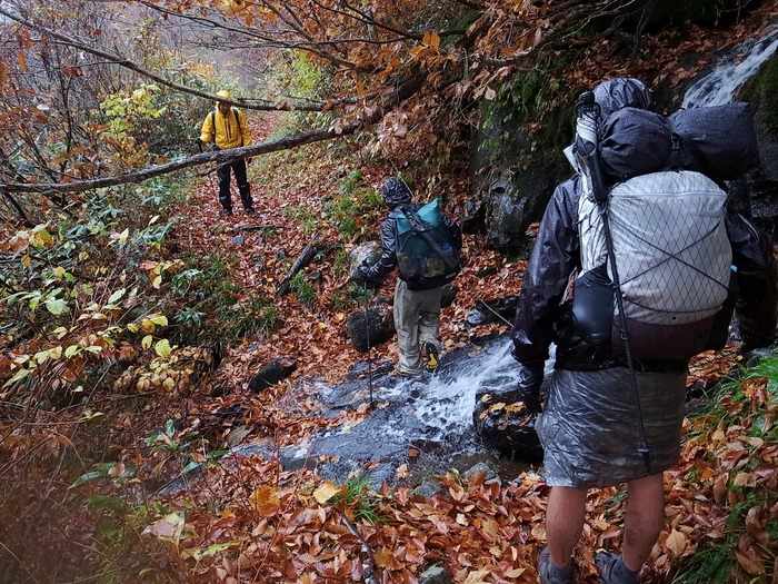 2013.11.3-4 谷川岳を歩いて泊まる山旅 day2_b0219778_1621755.jpg