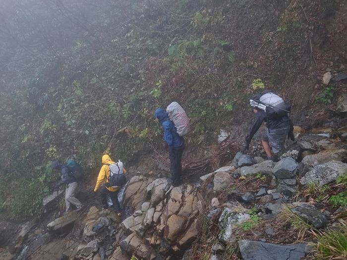 2013.11.3-4 谷川岳を歩いて泊まる山旅 day2_b0219778_16301864.jpg