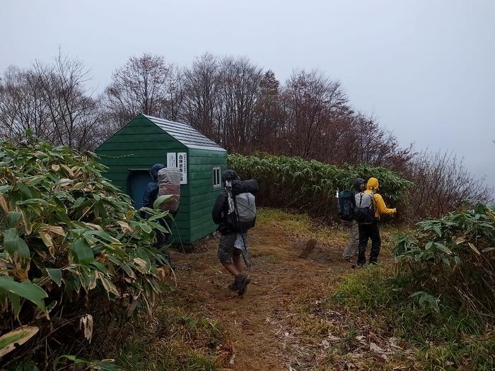 2013.11.3-4 谷川岳を歩いて泊まる山旅 day2_b0219778_1632784.jpg