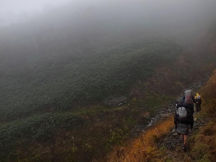 2013.11.3-4 谷川岳を歩いて泊まる山旅 day2_b0219778_17224093.jpg