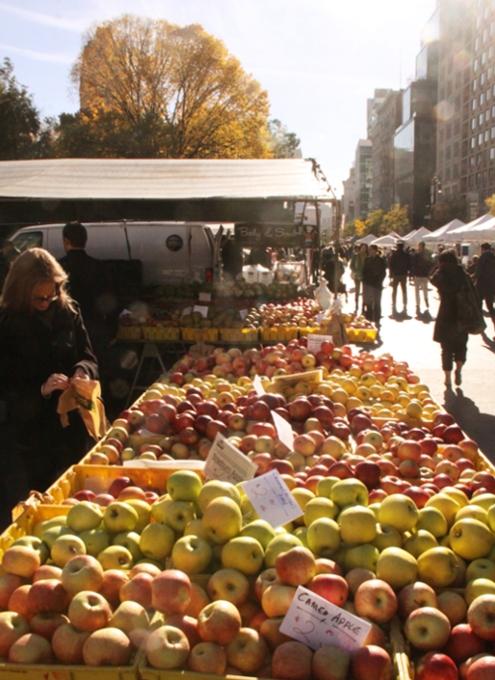 晩秋を迎えたニューヨークの青空市場_b0007805_1134116.jpg