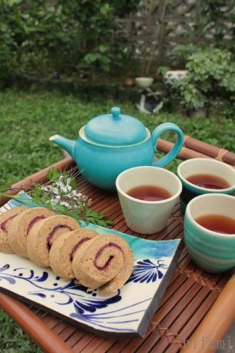 県産無農薬紅茶のtea time♪_c0176406_20572270.jpg