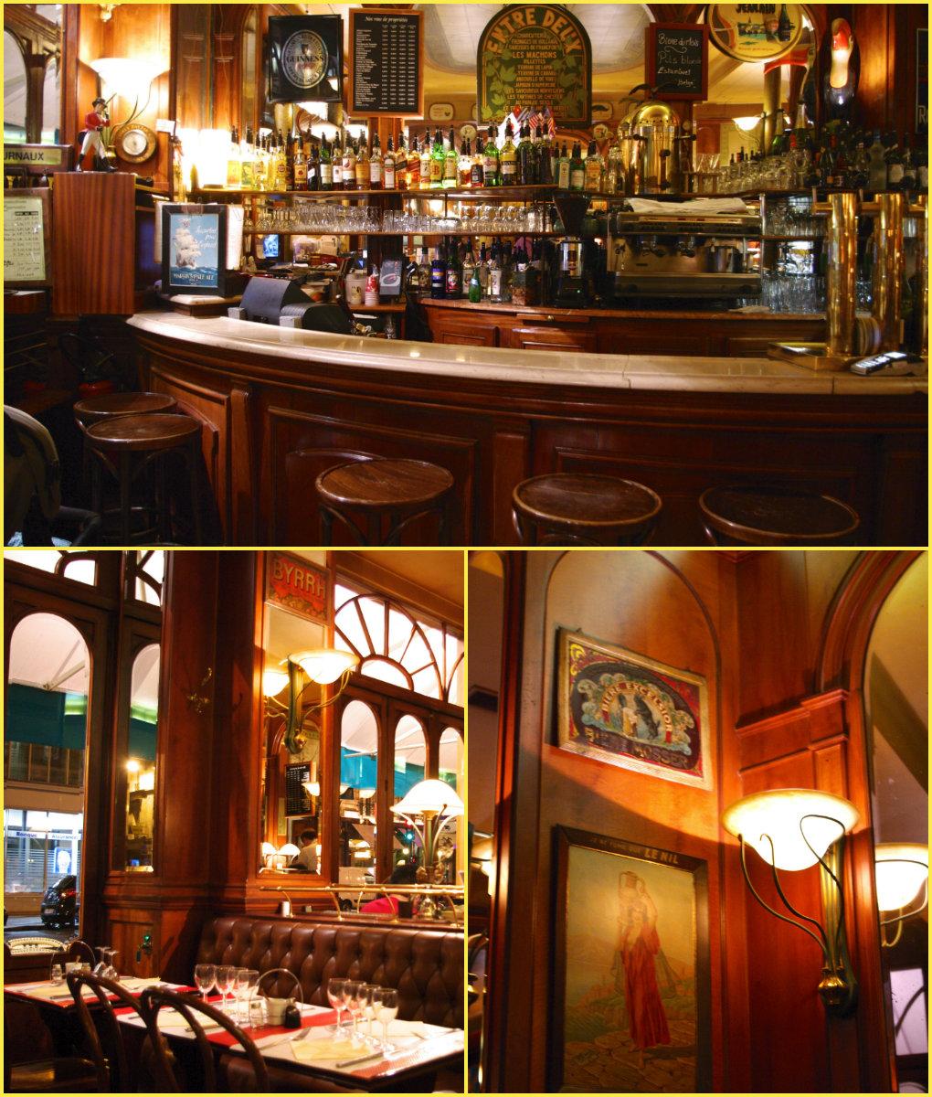 秋のパリ日記4:老舗お菓子屋さん、クラシックなビストロ、パリの食は美しい♪_e0114020_17523080.jpg