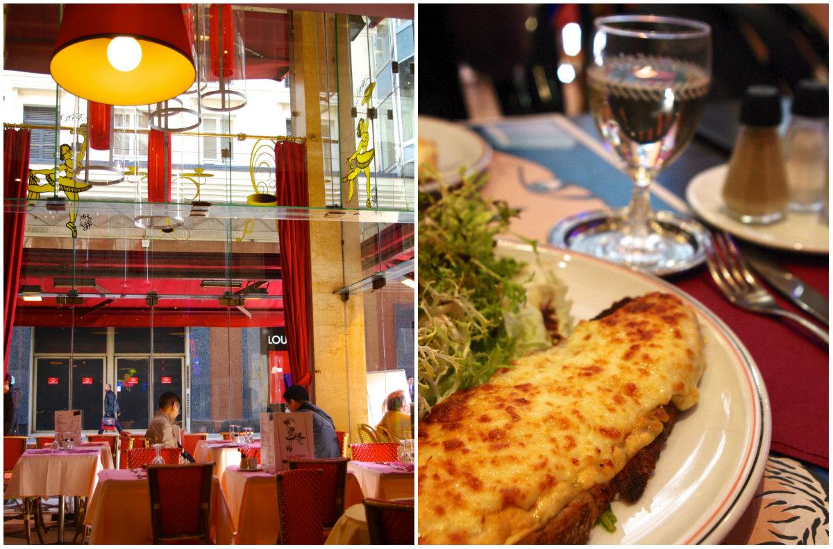 秋のパリ日記4:老舗お菓子屋さん、クラシックなビストロ、パリの食は美しい♪_e0114020_4513677.jpg