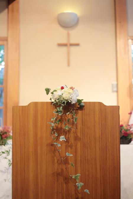 秋の装花 小さい頃、お花屋さんになりたかった夢 すいぎょく様へ_a0042928_11384294.jpg