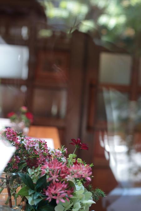 秋の装花 小さい頃、お花屋さんになりたかった夢 すいぎょく様へ_a0042928_11394535.jpg