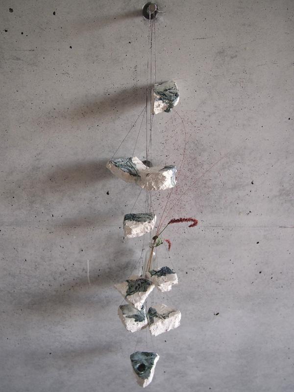 乙庭ギャラリー 生物図鑑15 大和由佳 「杖先、新しい小径」展 展覧会記録_f0191870_1545673.jpg