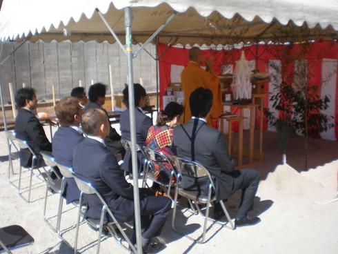 加治木のクリニックの地鎮祭が行われました_d0174072_1645121.jpg