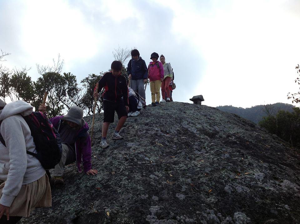 国東の霊山。峨眉山ー文殊山登山_f0071303_193318.jpg
