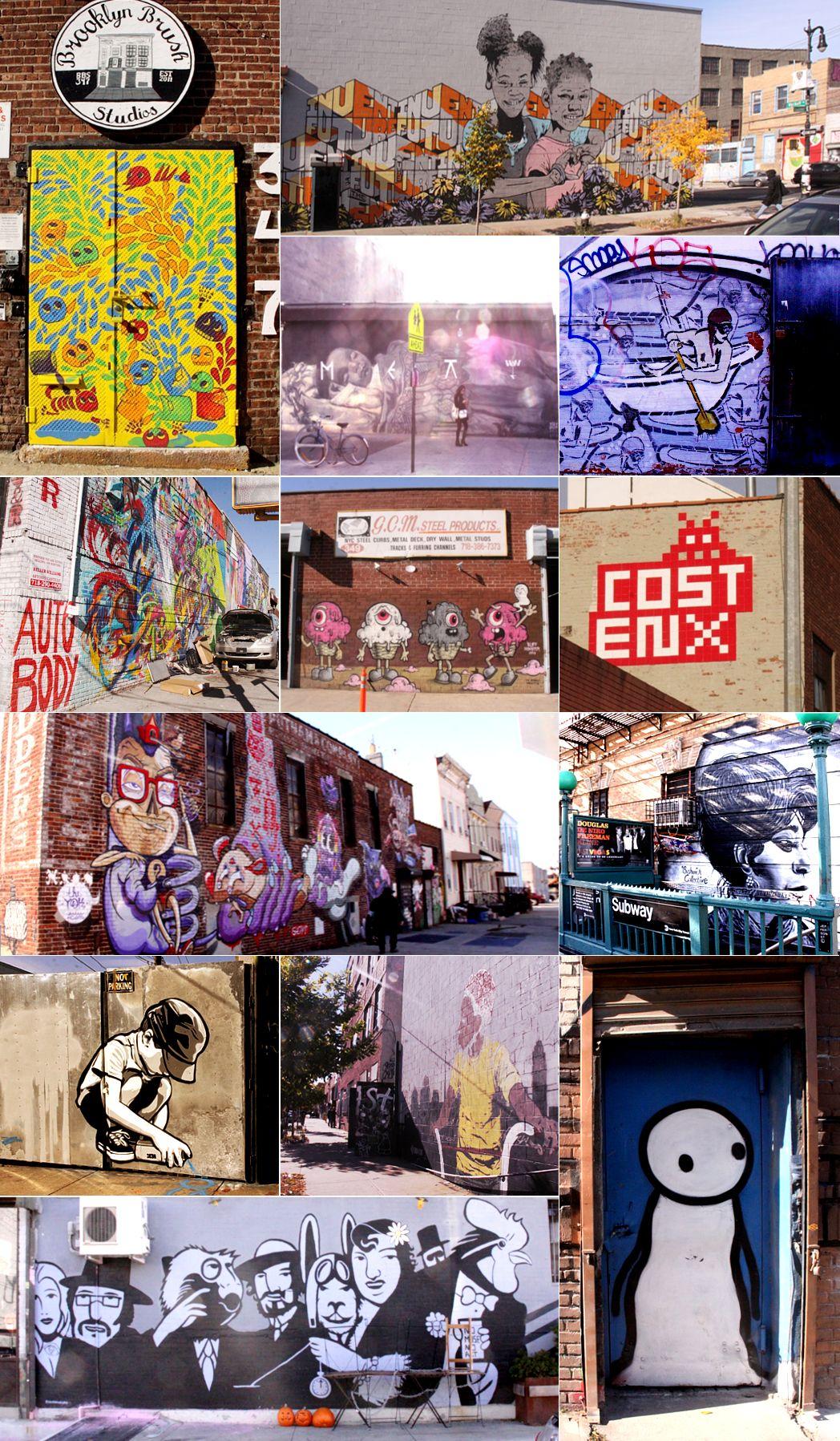 NYにあるエリア一帯がグラフィティの街、ブッシュウィック・コレクティブ(the Bushwick Collective)_b0007805_23323727.jpg