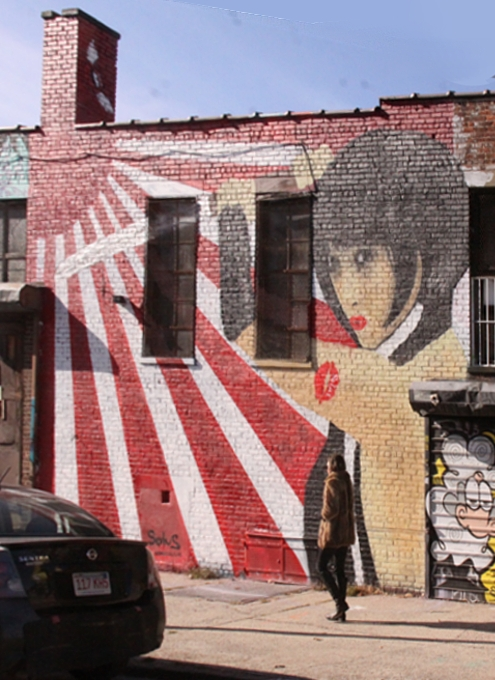 NYにあるエリア一帯がグラフィティの街、ブッシュウィック・コレクティブ(the Bushwick Collective)_b0007805_23325016.jpg