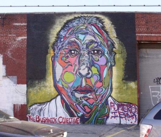 NYにあるエリア一帯がグラフィティの街、ブッシュウィック・コレクティブ(the Bushwick Collective)_b0007805_2332835.jpg