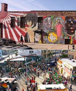 NYにあるエリア一帯がグラフィティの街、ブッシュウィック・コレクティブ(the Bushwick Collective)_b0007805_23484288.jpg