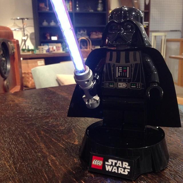 ダースベイダーデスクランプ / LEGO [レゴ]_c0222907_182788.jpg
