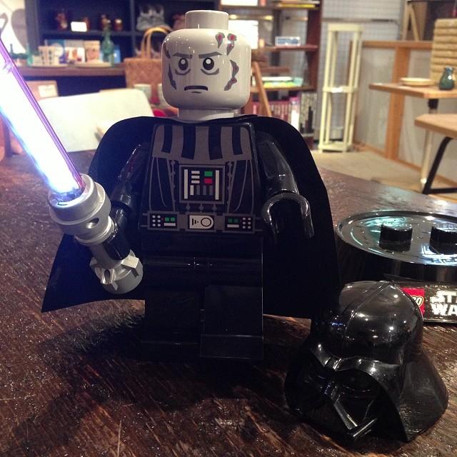 ダースベイダーデスクランプ / LEGO [レゴ]_c0222907_1831037.jpg