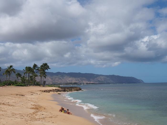 2013 10月 ハワイ(30)  カワイロアビーチ から ププケアビーチまで_f0062122_8285366.jpg