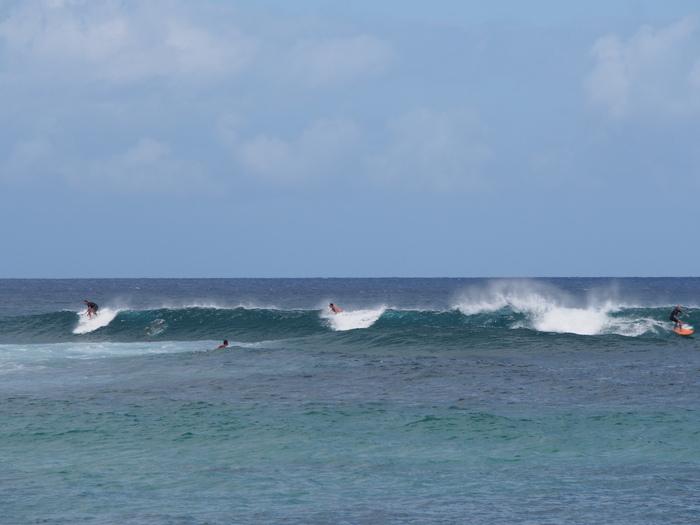 2013 10月 ハワイ(30)  カワイロアビーチ から ププケアビーチまで_f0062122_8342488.jpg