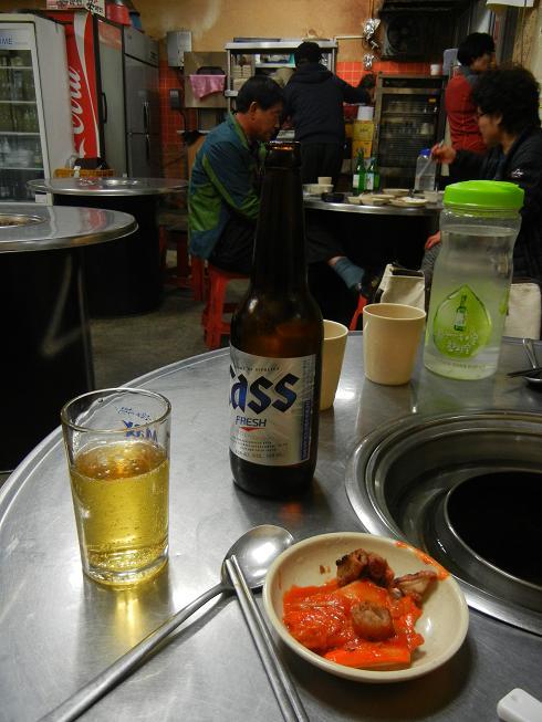清州  豚さん専門の炭火焼肉屋さん_b0129725_21485331.jpg