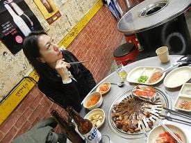 清州  豚さん専門の炭火焼肉屋さん_b0129725_23165751.jpg