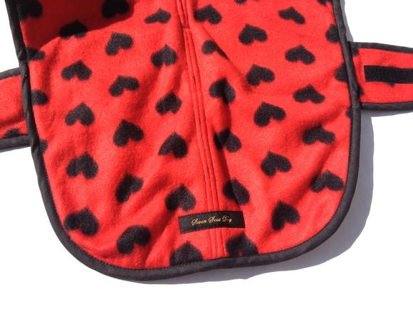 ILKARE Dog Jacket イルカレ ドッグジャケット ハート_d0217958_11293355.jpg