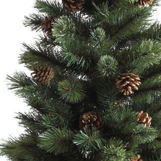 シックなポット入りクリスマスツリー_f0029571_0593479.jpg