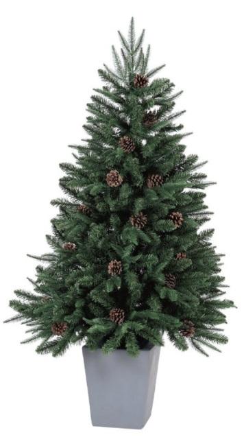 シックなポット入りクリスマスツリー_f0029571_123453.jpg