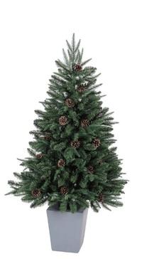 シックなポット入りクリスマスツリー_f0029571_16613.jpg