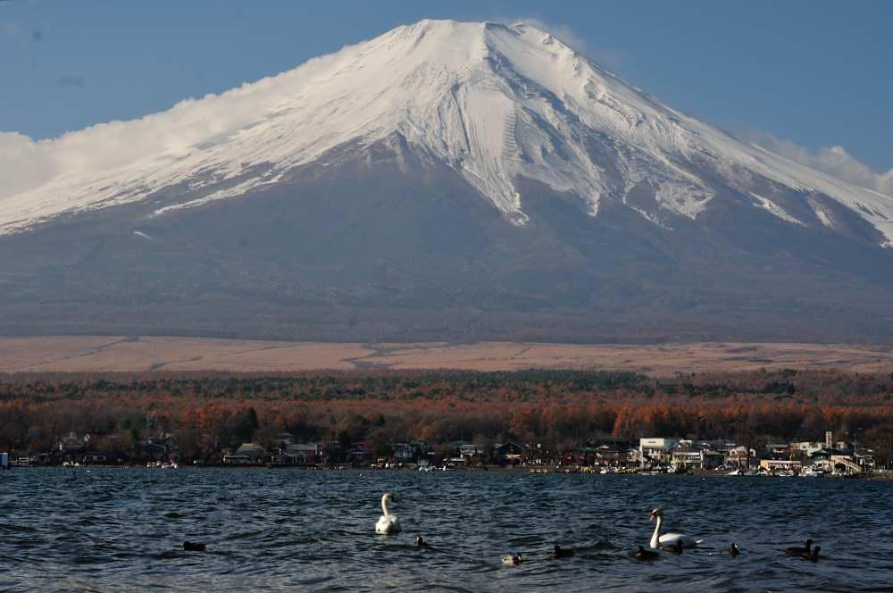 山中湖からの富士_f0202686_20462710.jpg