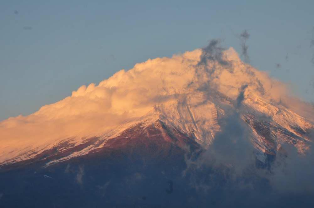 山中湖からの富士_f0202686_20473755.jpg