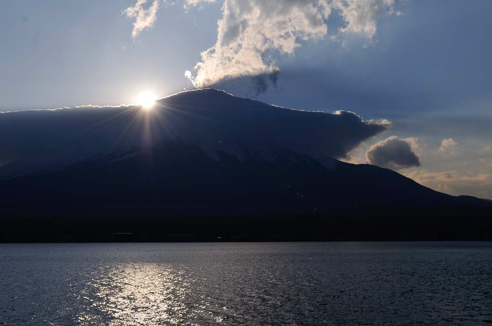 山中湖からの富士_f0202686_20475189.jpg
