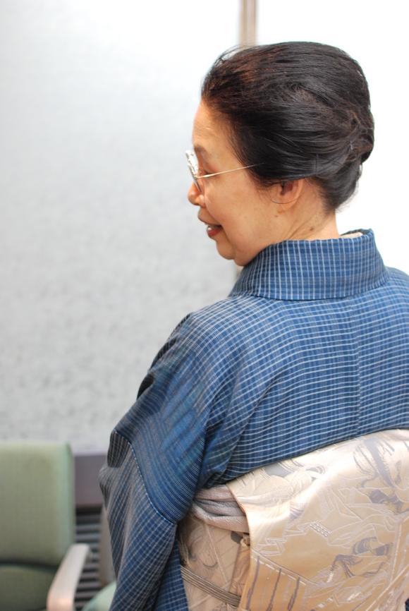 着物人は、半端じゃない! :笹島寿美先生_f0205317_2212810.jpg