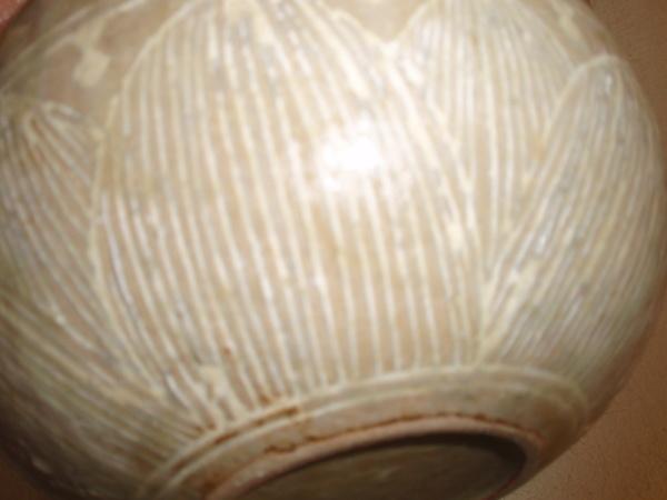 黄色三島の土瓶_b0132442_16273555.jpg