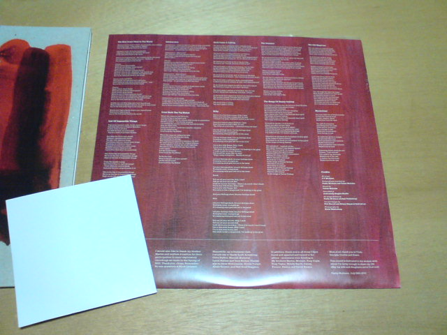 昨日到着レコ 〜 Crimson/Red / Prefab Sprout_c0104445_23114554.jpg