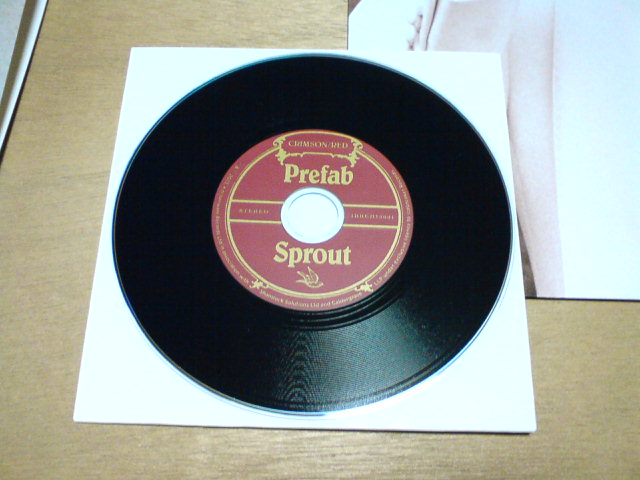 昨日到着レコ 〜 Crimson/Red / Prefab Sprout_c0104445_23125042.jpg