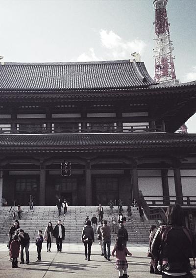 アンティーク風な miniature*小物。 と、増上寺。_e0172847_9302292.jpg
