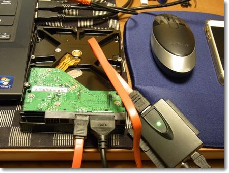 故障した外付けHDDユニットのチェック_c0147448_041218.jpg