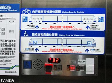 台北交通事情レポート13 <台北MRTの案内サインはとても分り易い2>_c0167961_050837.jpg