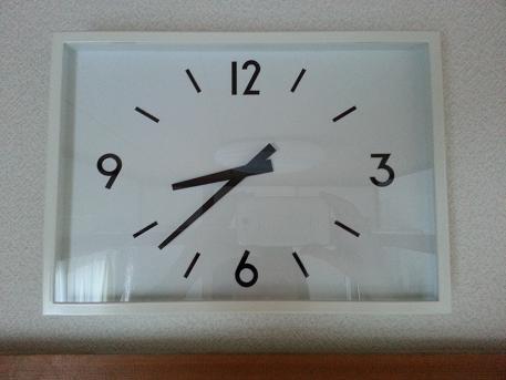 アルミウォールクロック 掛時計