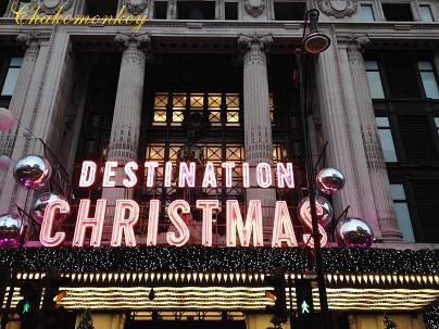Selfridgesのクリスマス_f0238789_19512355.jpg